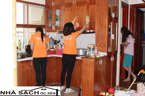 Giới thiệu dịch vụ vệ sinh nhà sạch Ốc Sên