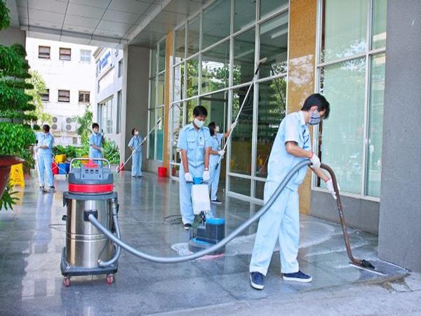 Các dịch vụ vệ sinh văn phòng do Nhà sạch Ốc Sên cung cấp