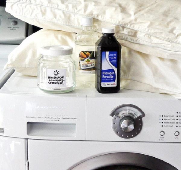 Giấm trắng để đưa vào máy giặt