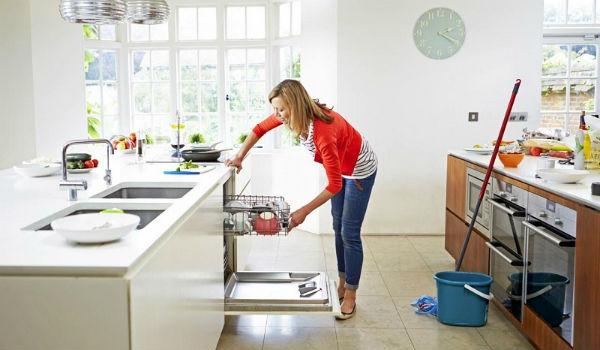 Làm sạch nơi nấu ăn