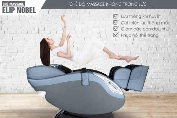 Ghế mát xa giúp thư giãn toàn bộ cơ thể