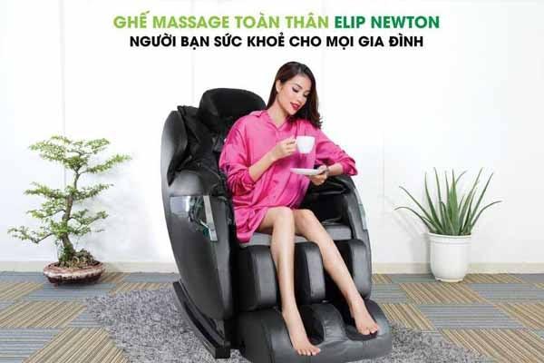 Ghế massage tăng cường chức năng hệ tuần hoàn máu