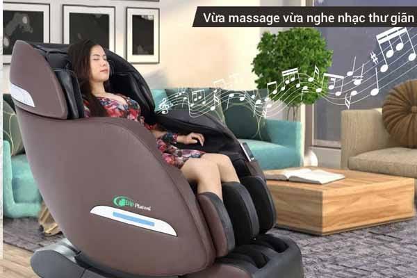 Ghế mát xa giúp cải thiện giấc ngủ